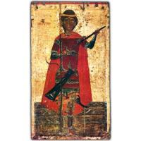 Великомученик Димитрий Солунский. Начало XV, XVI в. Псков