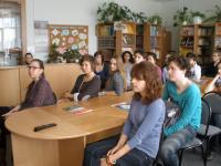 Студенты лицея Шампольон (г. Гренобль, Франция) на занятии «Виртуальный мир Государственного Русского музея»