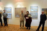 Открытие выставки А.Четверикова