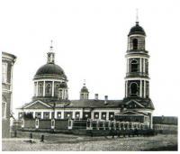 Церковь Бориса и Глеба в Плетенях. Не сохранилась. Снимок конца XIX века