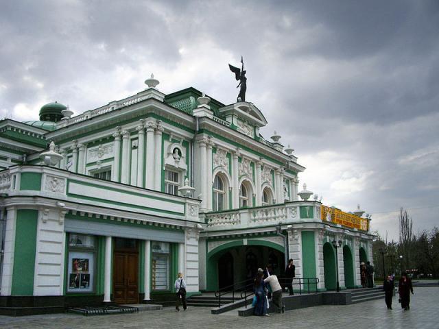 Театр драмы омск
