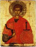 Великомученик Димитрий Солунский. Вторая четверть - середина XV века
