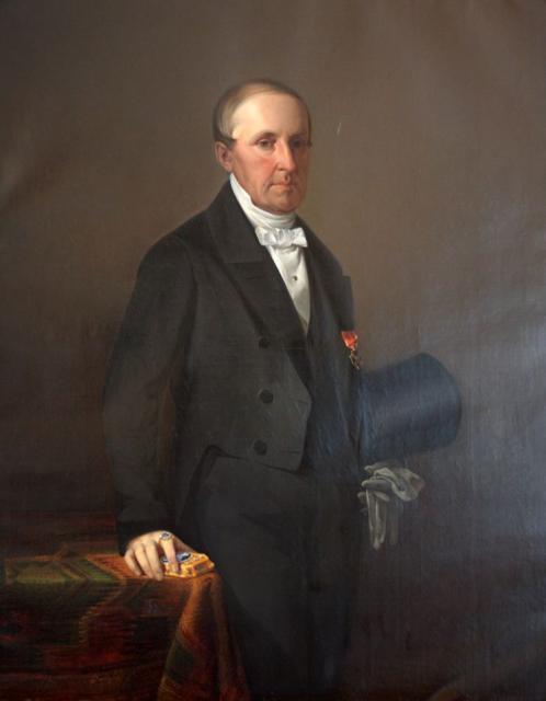 Сверчков В.Д. Портрет Андреаса Доннера. 1856