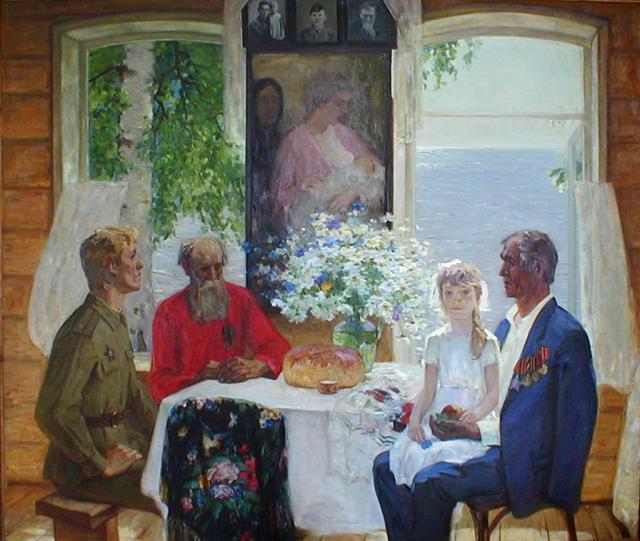 Хайрулинов И.С.  Отчий дом. 1989