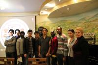 Иностранные студенты в мультимедийном кинотеатре ВФРМ при РЦНК