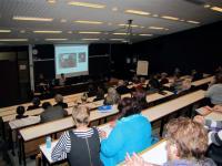 11. Участники и гости семинара. 1-й день семинара, лекционный зал Народного финскоязычного института города Турку