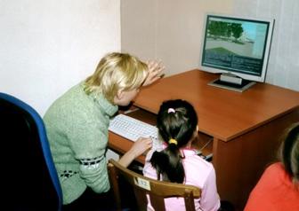 Работа в информационно-образовательном классе в Барнауле