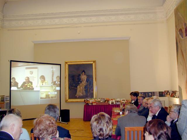 Видеоконференция между Нижегородским государственным университетом им. Н.И.Лобачевского и Русским музеем