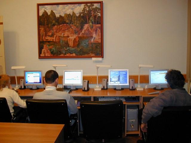 Работа центра «Русский музей: виртуальный филиал» в образовательном пространстве Университета