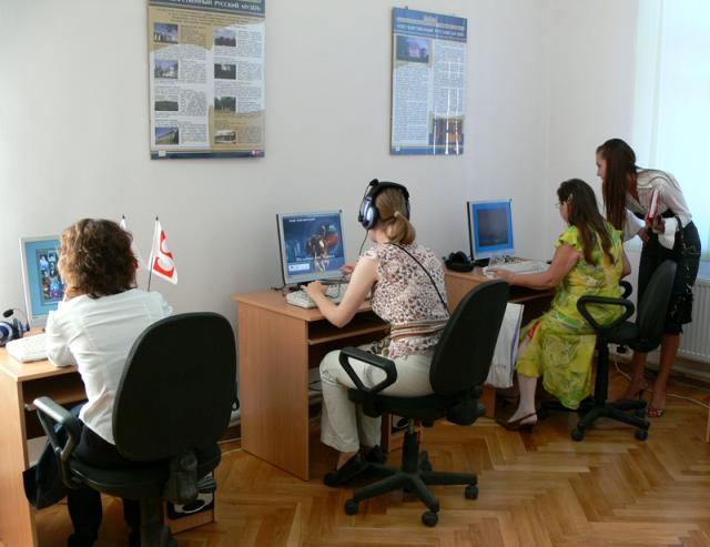 Работа в информационно-образовательном классе
