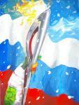 Турьева Александра «Олимпийский огонь». СОШ №21. Возр. группа 9-11 классы. I место