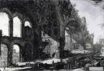 "Джованни Батиста Пиранези. Вид руин таблинума ""Золотого дома Нерона""."
