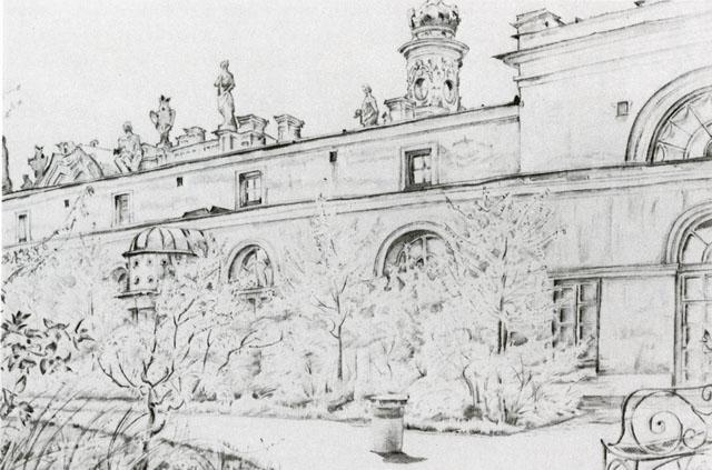 Эрмитаж. Летний сад. 1920. ГРМ