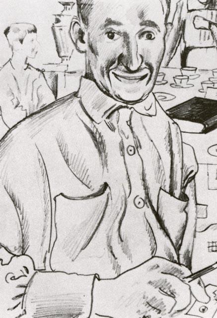 Добужинский М.В. Портрет художника Г.С. Верейского. 1921. ГРМ