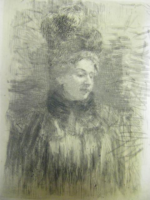 Репин И.Е. Женский портрет. 1895. ЕМИИ