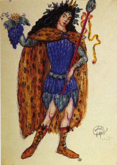 Добужинский М.В. Бахус. 1915. ГРМ