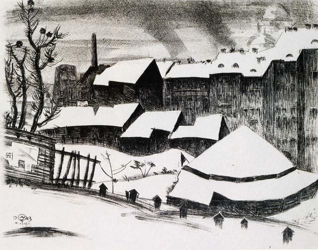 Добужинский М.В. Витебск. Цирк. 1923. ГРМ