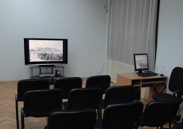 Мультимедийный кинотеатр в г. Запорожье (Украина)