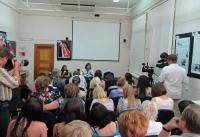 Пресс-конференция Никаса Сафронова в ИОЦ ГХМАК