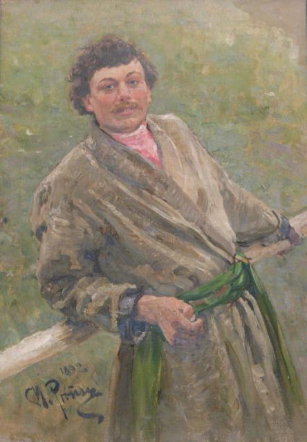 Репин И.Е. Белорус. 1892.  ГРМ