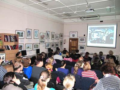 Участники семинара - преподаватели детских учреждений художественного образования Алтайского края
