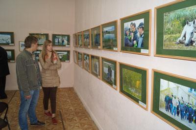 Посетители Музейной ночи