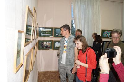 Гости из Киргизии на выставке