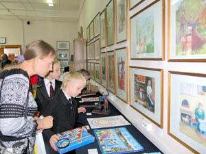Участники проекта - учащиеся художественных школ Алтайского края