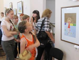 Детская выставка - для детей и не только