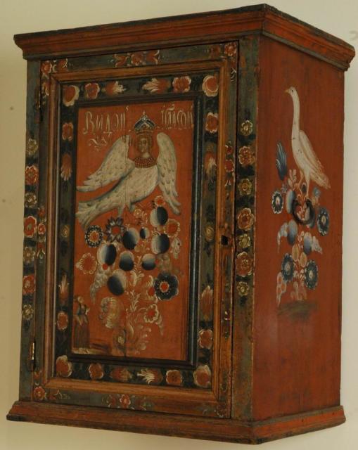 Свадебный шкафчик. Конец XVIII — начало XIX века