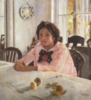 Серов В.А. Девочка с персиками. 1887